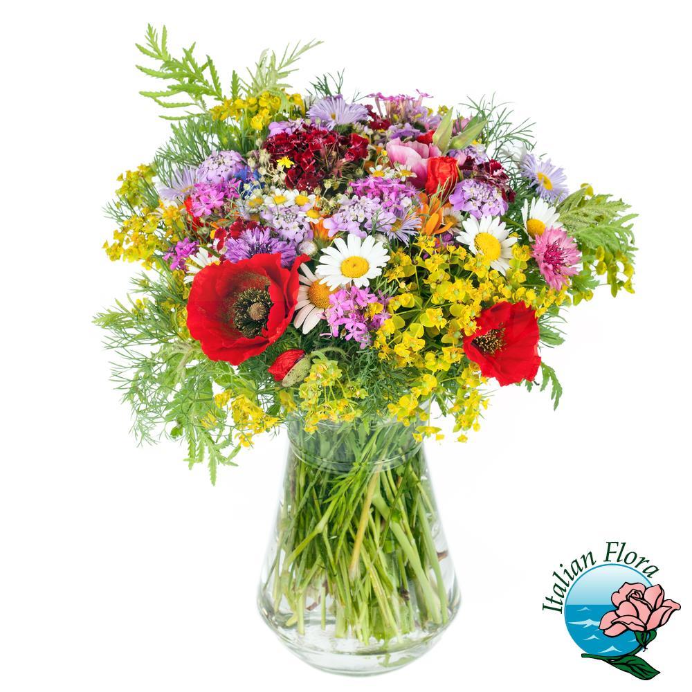 Fiori Di Campo.Bouquet Di Fiori Di Campo E Margherite