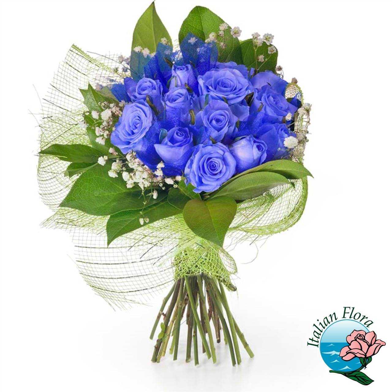 Mazzo Di Rose Blu