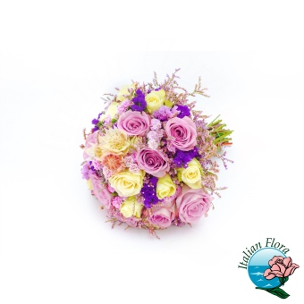 Bouquet di Rose e Fresie