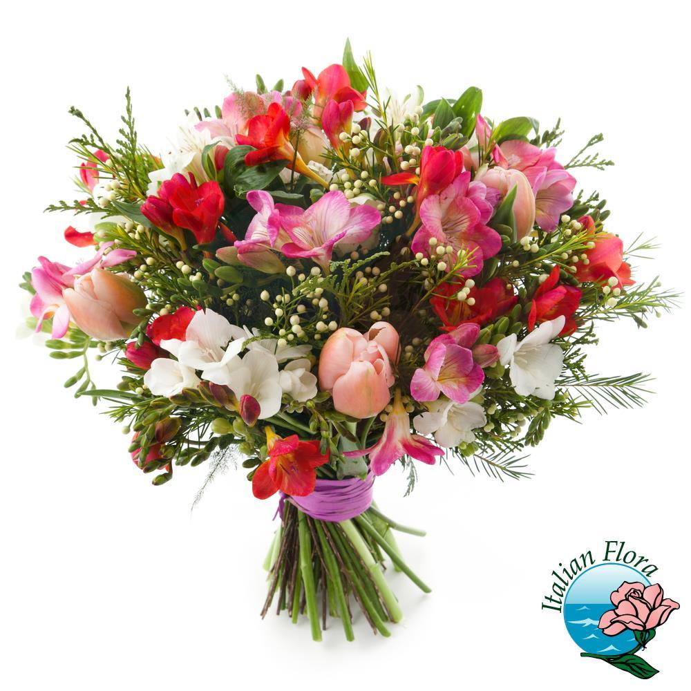 Fiori Di Campo.Bouquet Di Fiori Di Campo Colorato