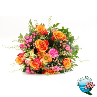 Bouquet colorato for Libri per fioristi