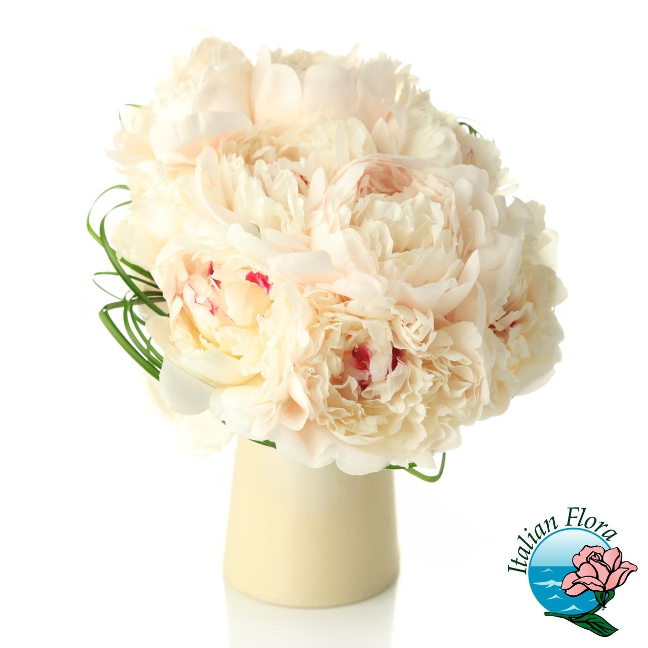 Immagini Di Bouquet Da Sposa.Bouquet Da Sposa Di Peonie Bianche