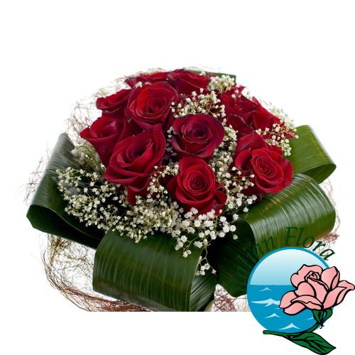 Per la Laurea in Giurisprudenza si possono inviare dei bouquet di fiori e  gerbere con il nastro di colore rosso 98c0139b0706