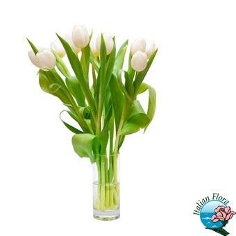 Mazzo di Tulipani raffinato. Consegna in Italia.