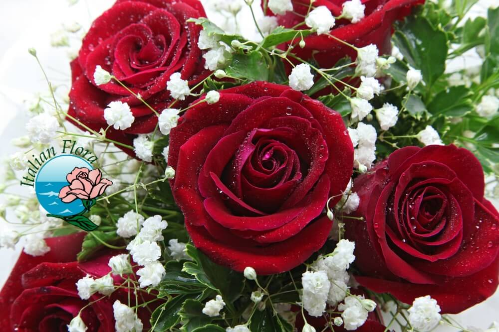 Ben noto Fai consegnare a domicilio uno splendido mazzo di rose NH81